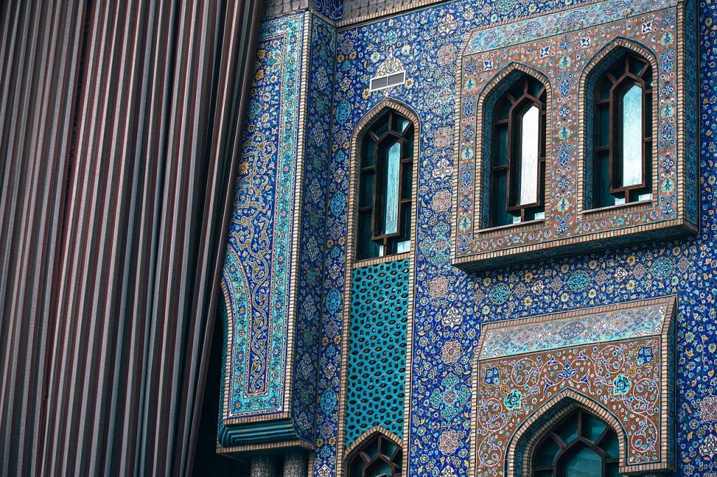 płytki wzór marokański